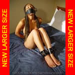 Black girl nude & shackled