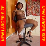 Black girl chair-tied & exposed